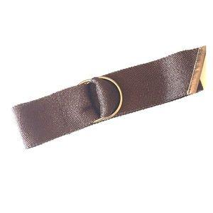 NWOT Bronze Gold Wide Waist Hip Belt